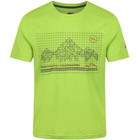 Regatta Fingal III T-Shirt Men Lime Green